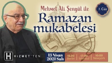Mehmet Ali Şengül ile 'Ramazan Mukabelesi' başlıyor 30