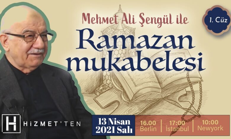 Mehmet Ali Şengül ile 'Ramazan Mukabelesi' başlıyor 1