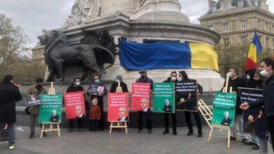 Gergerlioğlu'na Paris'te destek mitingi 9