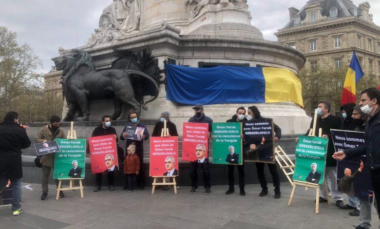 Gergerlioğlu'na Paris'te destek mitingi 1