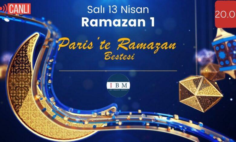Paris'te Ramazan Bestesi izleyicileriyle buluşuyor 1