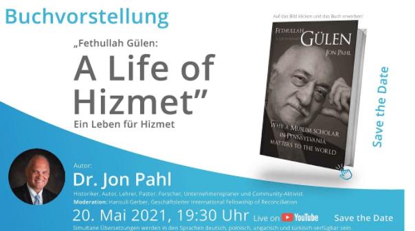"""BAŞLADI   Jon Pahl, """"Bir Hizmet Hayatı"""" adlı kitabının sunumunu gerçekleştiriyor 1"""