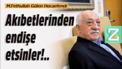 Akıbetlerinden endişe etsinler!.. | M. Fethullah Gülen Hocaefendi 3