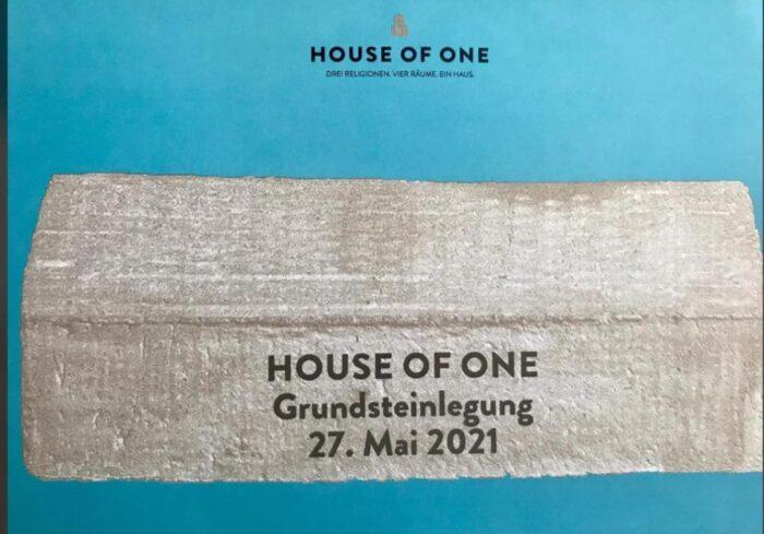 """Rüyadan Gerçeğe: """"House of One Projesi""""nin temeli atılıyor 3"""
