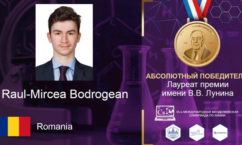 Romanya Hizmet okulu öğrencisi kimya olimpiyatında mutlak birinci oldu 1