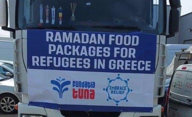 Yunanistan'daki Türkiyeli mültecilere Ramazan'da kardeşlik köprüsü 1