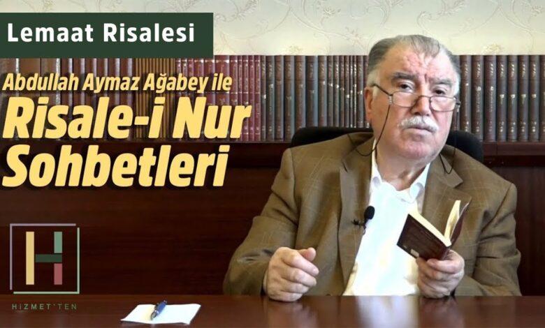 Yeni Bölüm | Abdullah Aymaz Ağabey ile Risale-i Nur sohbeti bu akşam 22.00'da 1