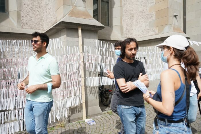 İsviçre'de dünya mülteciler günü 5