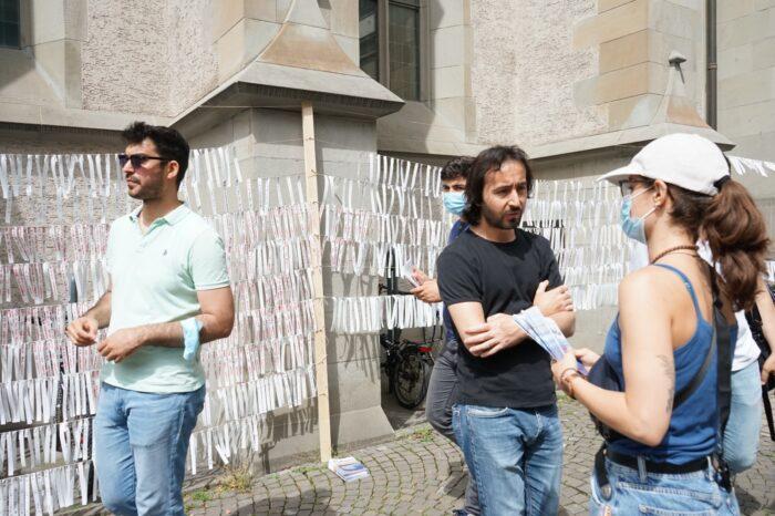 İsviçre'de dünya mülteciler günü 2