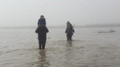 Meriç'in taşan sularında 12 saat yürümek zorunda kalan çocukların hikayesi… 6