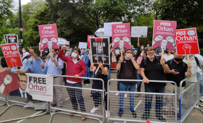 Orhan İnandi'nin bulunmasi için Avrupa'da protesto zinciri 1