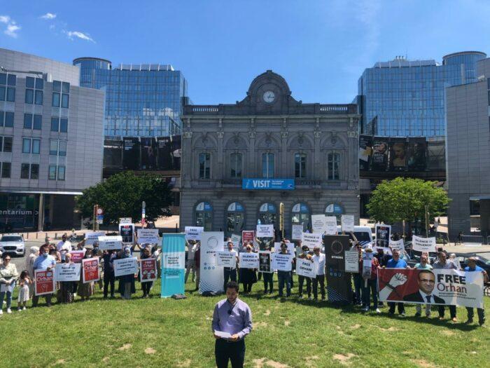 Orhan İnandi'nin bulunmasi için Avrupa'da protesto zinciri 4