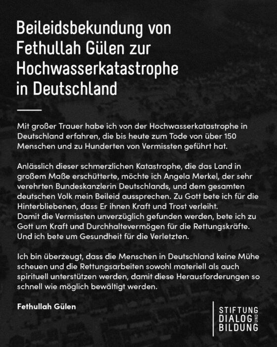 Hocaefendi'den, Almanya'ya geçmiş olsun mesajı 3
