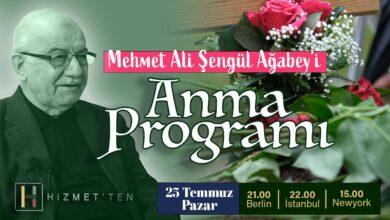 CANLI | Mehmet Ali Şengül Ağabey'i Anma Programı 6