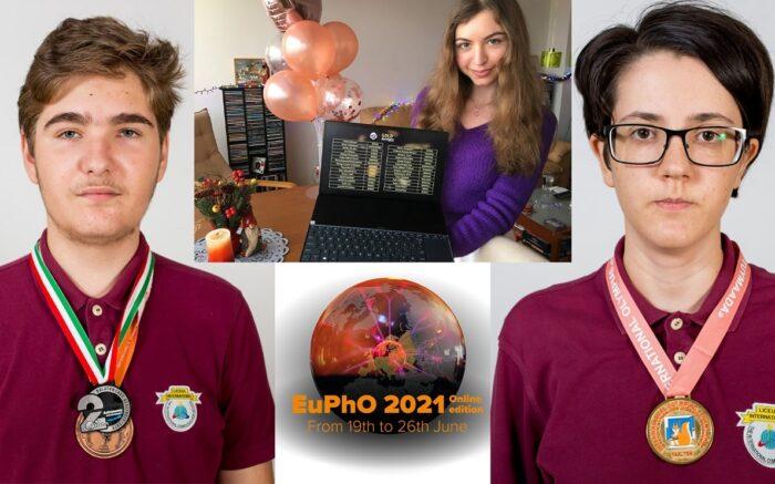 Lumina öğrencilerinden Romanya'ya 5 bilim madalyası daha 2
