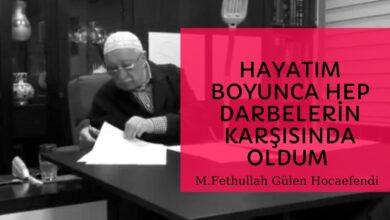 Hayatım boyunca hep darbelerin karşısında oldum (17.07.2016) | M.Fethullah Gülen Hocaefendi 5