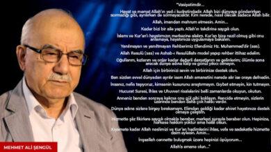 Samsunlu Hocamız'ın ailesine vasiyeti: Dünya adına sizlere bir şey bırakamam 3